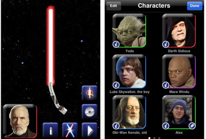 THQ unleashes Star Wars iPhone games
