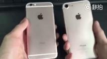 Video: iPhone 7 im Vergleich zum 6s aufgetaucht