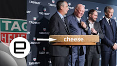 Cheese was the best part of TAG Heuer's smartwatch event