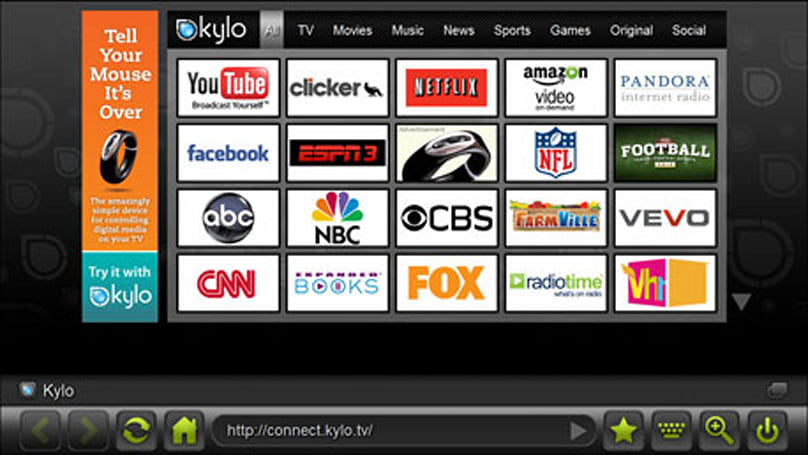 Beta Beat: Kylo Browser featuring 10-foot interface