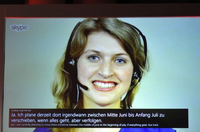 Skype Translator will let you chat in real-time with people in other languages later this year