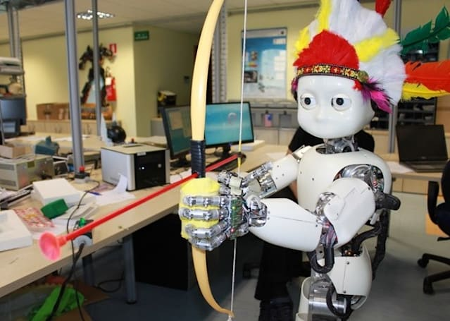 Robot Archer iCub learns to shoot arrows, pierces our mortal heart (video)