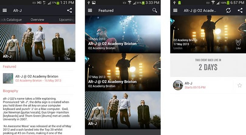 Soundhalo beta for Android lets us buy concert videos before the show is over