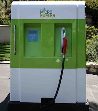 E-Fuel's Micro Fueler creates Ethanol from sugar in your backyard