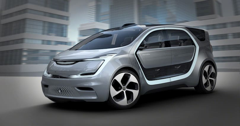Chrysler unveils its concept minivan for the selfie generation