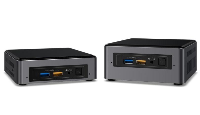 Intel gives its NUC mini-PCs new processors, new ports and a new design