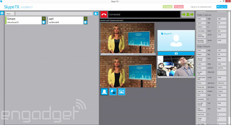 Microsoft announces Skype TX with studio-grade audio and video for broadcasters
