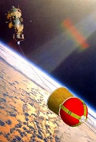 Longest-ever space tether fails to deploy, flings capsule towards Earth