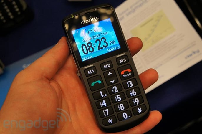 Clarity Pal hands-on, a new phone for senior citizens