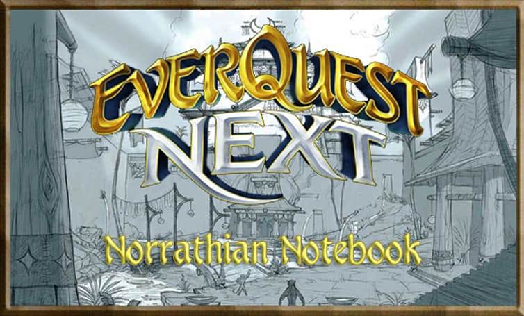 Norrathian Notebook: EQ Next's 'workshop collaborations'