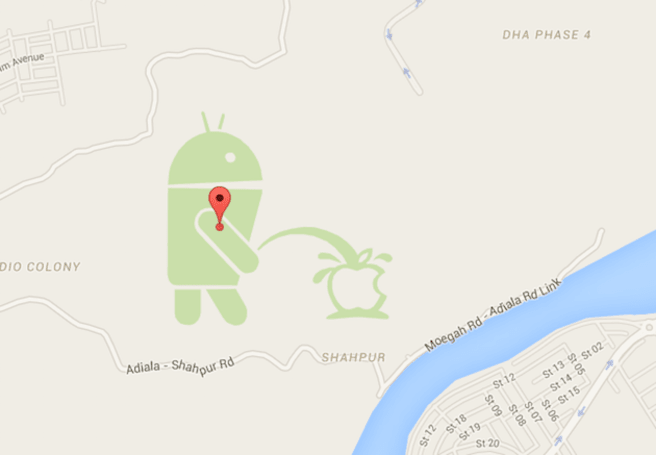 Google suspends Map Maker service after digital vandalism