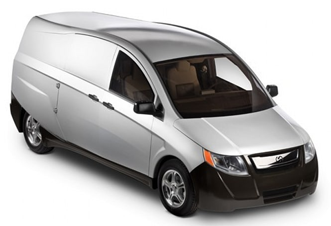 Bright delivers hybrid van for U.S. Army testing, won't be hitting a battlefield soon -- or ever