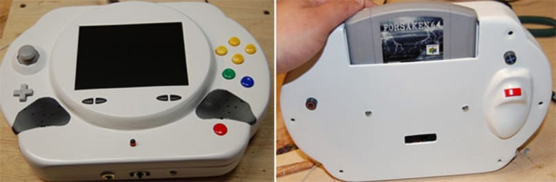 Nimbus 64: the latest in a long line of gorgeous portable N64 mods