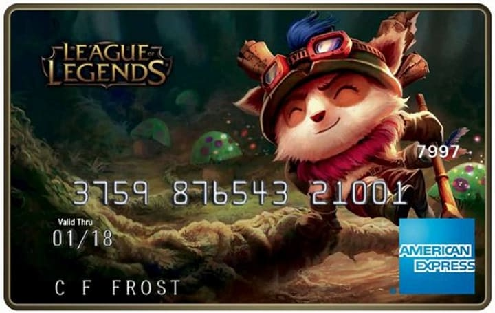 League of Legends American Express debit cards get RP for purchases