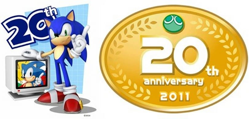 Sega teases Sonic and Puyo Puyo anniversary projects