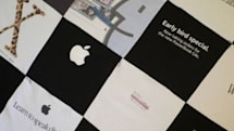 Apple t-shirt quilt available on eBay