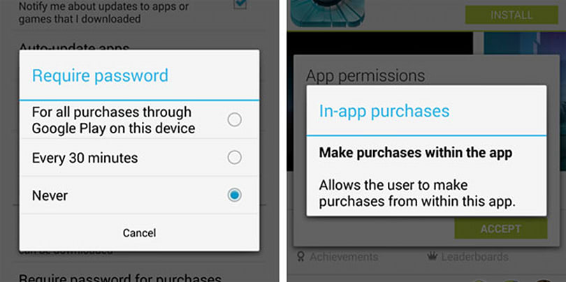 Google Play Store update adds finer security control for app purchases