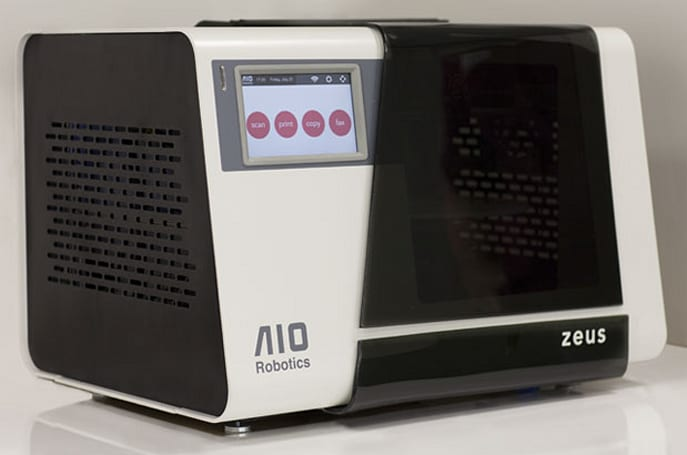 ​Zeus copy machine hits Kickstarter with all-in-one 3D printer, scanner and fax