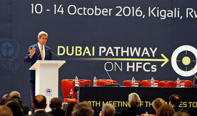 Kigali Amendment reached to cut use of planet-warming HFCs
