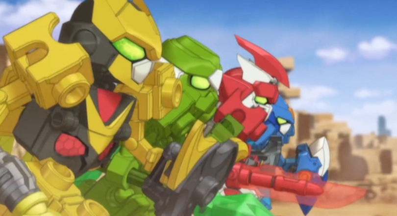 Tenkai Knights: Brave Battle coming to 3DS from Namco Bandai