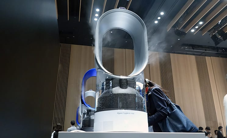 Dyson tackles the humidifier, kills water-based bacteria with UV light