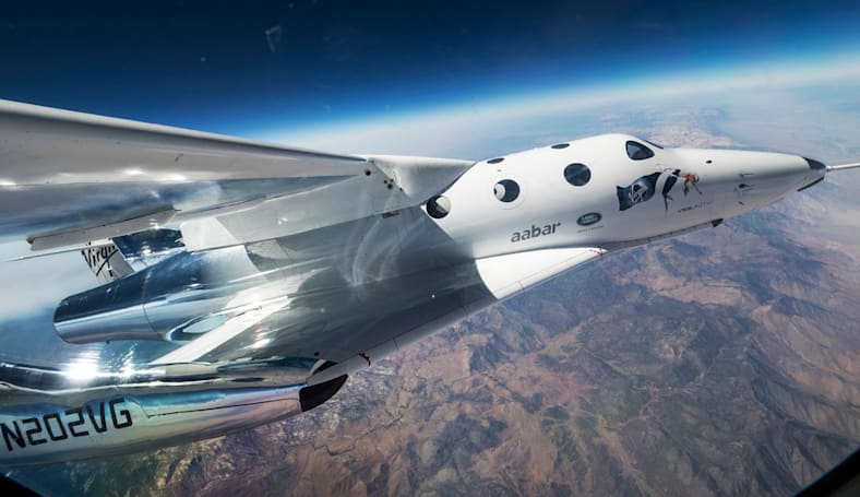 Virgin Galactic returns to the skies after two years