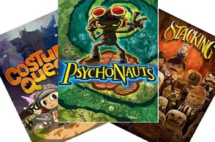Double Fine deals found in the Amazon, Psychonauts and Costume Quest under $5