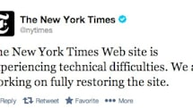 DNS hack takes The New York Times offline (update: Twitter images were affected too)