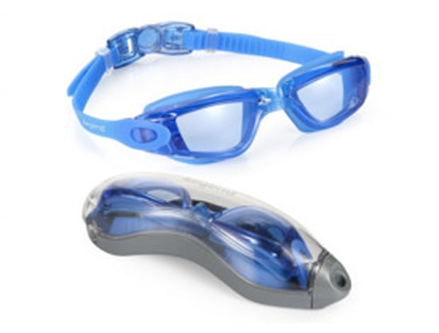 AEGEND Clear Swimming Goggles, No Leaking Anti Fog UV Protection