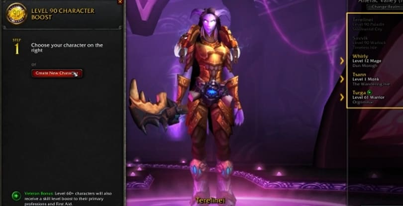 World of Warcraft's Warlords of Draenor is launching by December 20th