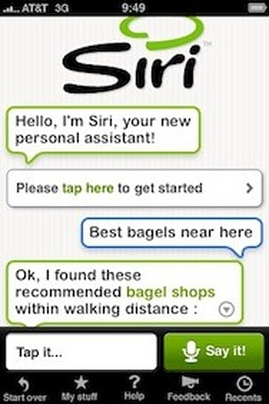 Apple acquires virtual assistant search app maker Siri