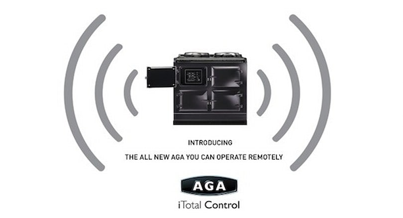 AGA's iTotal Control range cooker packs GSM connectivity, lets you pre-heat via SMS or web