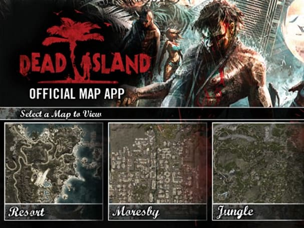Dead Island iOS app tells you what you're doing in Dead Island on a smaller screen