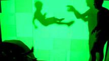 Lichtabdrücke: Phosphoreszenz-Wand Marke Eigenbau