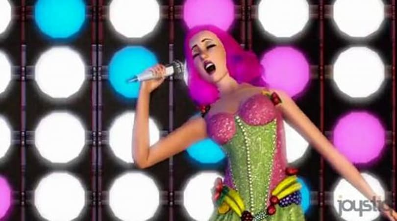 Katy Perry bringing fruit dresses, more to The Sims 3 Showtime