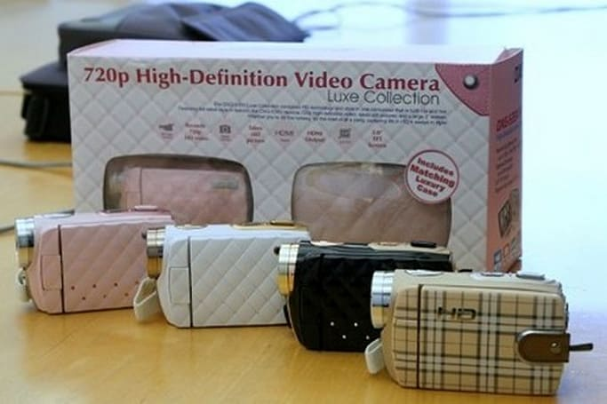 DXG's latest camcorders sport the Burberry and Chanel look, KIRF-style