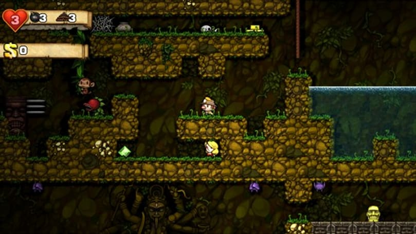 Spelunky prepares daily challenge mode for Steam