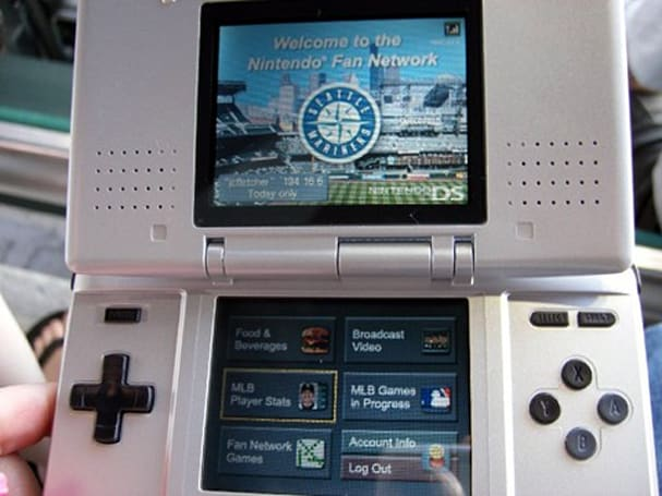 Nintendo's DS-accessible Fan Network now free at Safeco Field