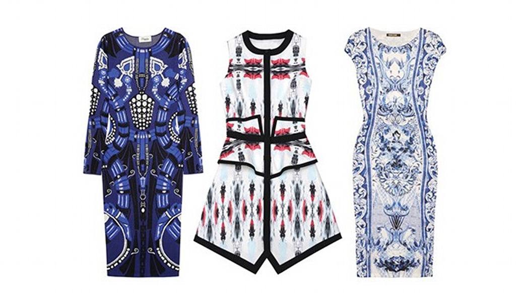 7 Kaleidoscope Print Dresses For Prom Night