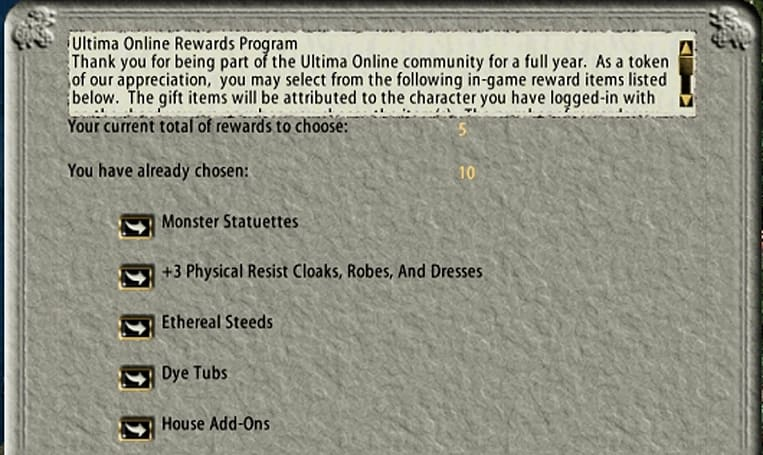The Daily Grind: Do you keep MMO accounts on for veteran rewards?