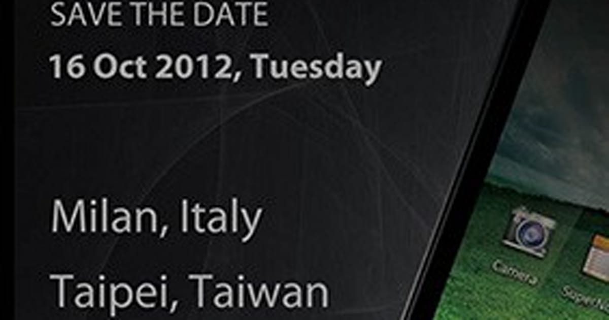 ASUS Padfone 2 launch event slated for October 16th in ...