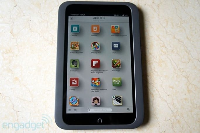 Barnes & Noble's Nook Free Fridays now include apps