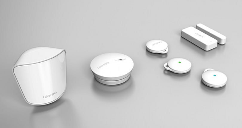Belkin's WeMo home sensors track everything and the kitchen sink