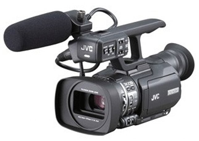 JVC's GY-HM100 / GY-HM700 ProHD camcorders capture QuickTime straight to SDHC
