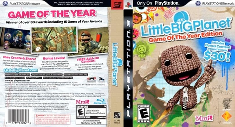 LittleBigPlanet: Game of the Year edition coming Sep. 8, $59.99