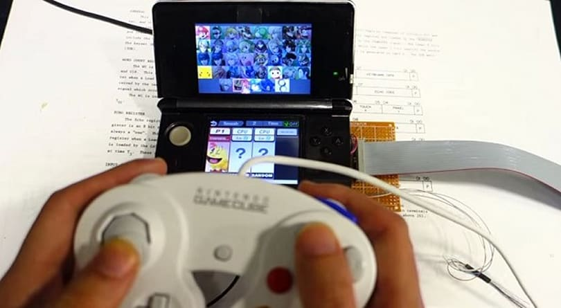 3DS mod adds smashing GameCube controller support