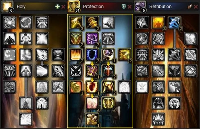 The Light and How to Swing It: Protection and retribution builds in 4.0.1
