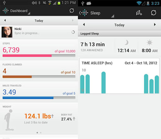 Fitbit updates Android app with wireless syncing over Bluetooth 4.0