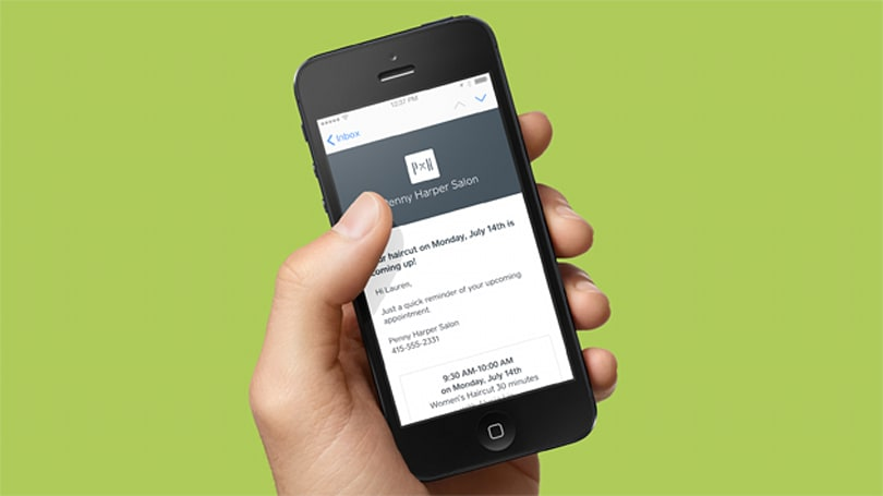 Square's appointment booking makes sure that you never miss a haircut