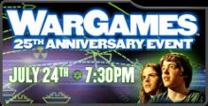 WarGames returns to theaters via digital distribution & projection network